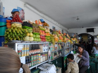 Saftstände vom Mercado Central